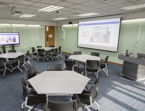 New Interactive Classrooms in the CTLE
