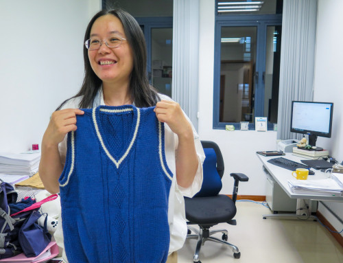 Grace Ho: Knitting Happiness and Warmth